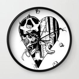 The Broken Hearted Wall Clock