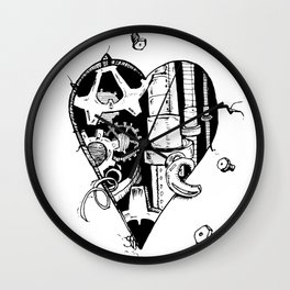 The Broken Hearted Wall Clock