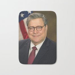 Attorney General William Barr Official Portrait Bath Mat