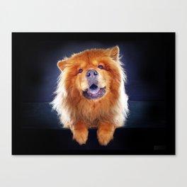 Super Pets Series 1 - Super Chow Canvas Print