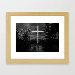 Husavik cross Framed Art Print