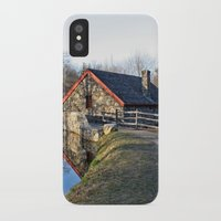 cabin pressure iPhone & iPod Cases featuring Cabin by glomung