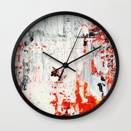 SCRAPED 2 Wall Clock