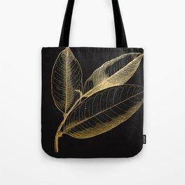 The golden leaf Tote Bag