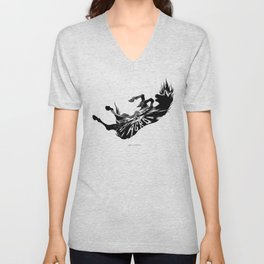 Shadow of the Colossus: Agro's fall Unisex V-Neck