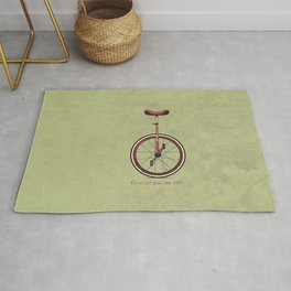 Unicycle Rug