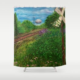 Lewes Shower Curtain