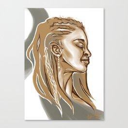 Haste Canvas Print