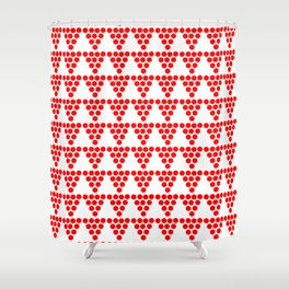 Abstraction from Cardium pottery 1 -abstraction,abstract,cardial,cardium pottery Shower Curtain