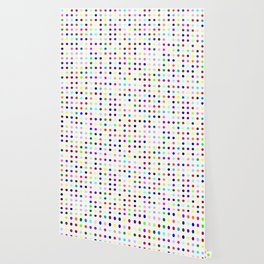 Big Hirst Polka Dot Wallpaper