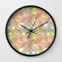 Connectivity - Neutral Wall Clock