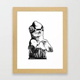 torso belvedere Framed Art Print