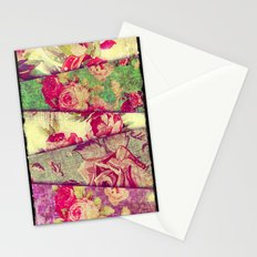 VINTAGE FLOWERS VI - for iphone Stationery Cards
