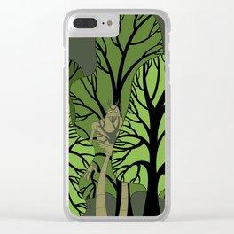 Hidden Protector Clear iPhone Case