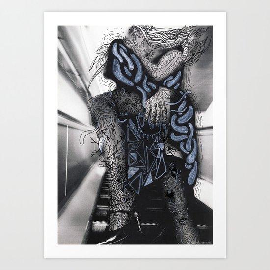 Psychoactive Bear 6 Art Print