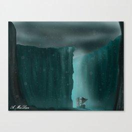 Frozen Valley Canvas Print