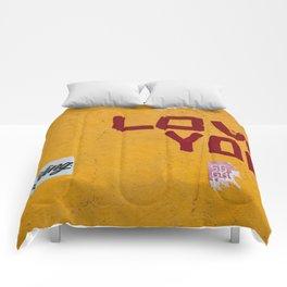 Love You, New York II Comforters
