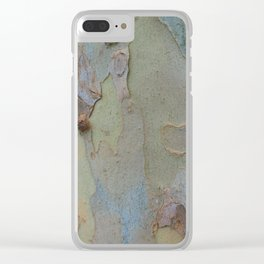 Sycamore Bark - Natural Texture Series Clear iPhone Case