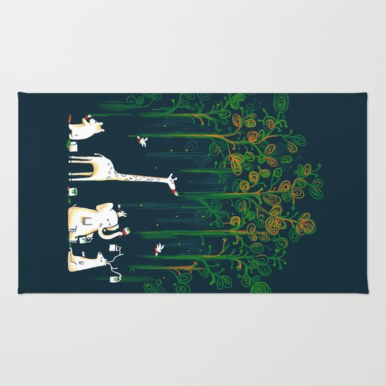 Re-paint the Forest Rug