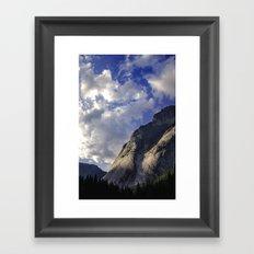 Yosemite National Park - Granite Mountain Framed Art Print