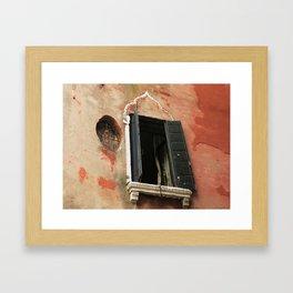 Venice Windows #8 Framed Art Print