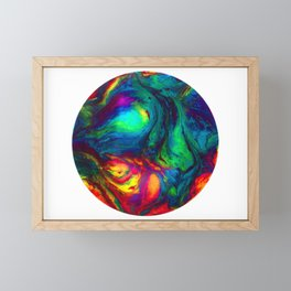 Fire Opal Framed Mini Art Print