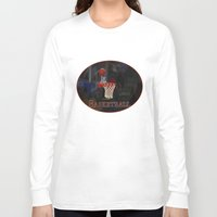 basketball Long Sleeve T-shirts featuring Basketball by LoRo  Art & Pictures