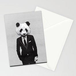 Panda Suit Stationery Cards