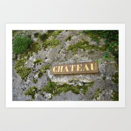 Chateau Art Print