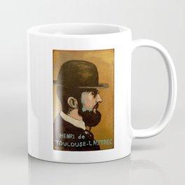 50 Artists Henri de Toulouse-Lautrec Coffee Mug