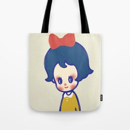 a little girl  Tote Bag