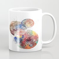 planets Mugs featuring Planets by emluluna