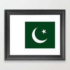 Flag of Pakistan Framed Art Print