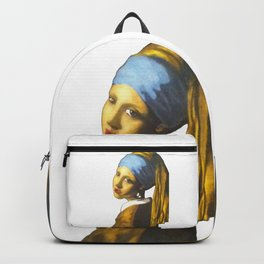Girl with the Pearl Earring Backpack