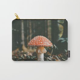 Forest Mushroom Carry-All Pouch