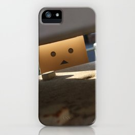 Danbo Through the Letterbox iPhone Case