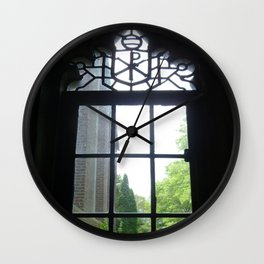Founders Window (2) Wall Clock