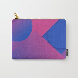 Gradient Graphic Pattren Carry-All Pouch