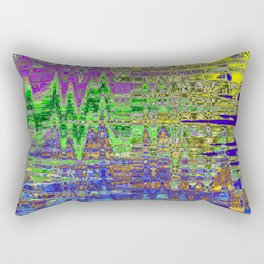 THIRTY SECONDS AFTER UNIVERSE SEVEN FORMED FROM THE VOID Rectangular Pillow