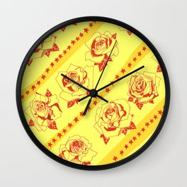 Buy more stock in Roses Wall Clock