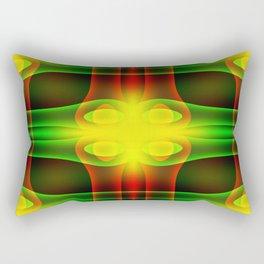 Color Crossing Rectangular Pillow