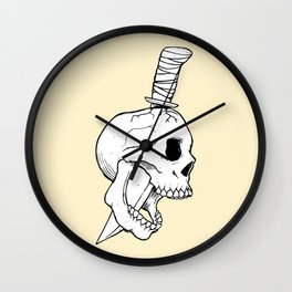 A Bitter End Wall Clock