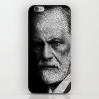 freud iPhone & iPod Skins featuring Sigmund Freud quote by JuanOsborne