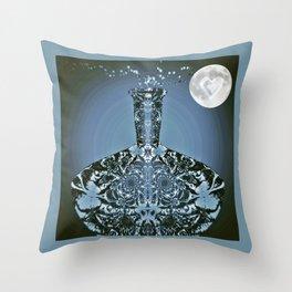 Moonlight Madness Throw Pillow