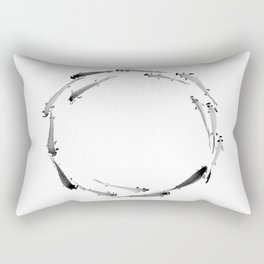 Fishes enso Rectangular Pillow