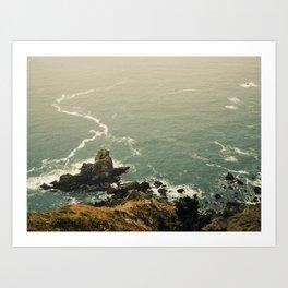 San Francisco Ocean  Art Print