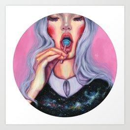 LolliWorld Art Print