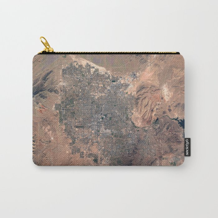 Las Vegas from space Carry-All Pouch