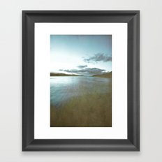 Down by the sea 2 Framed Art Print