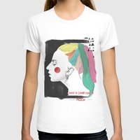 lady T-shirts featuring Lady by Senoviya